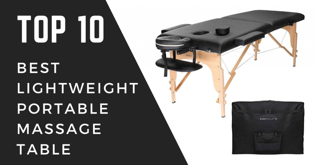 Best Lightweight Portable Massage Table