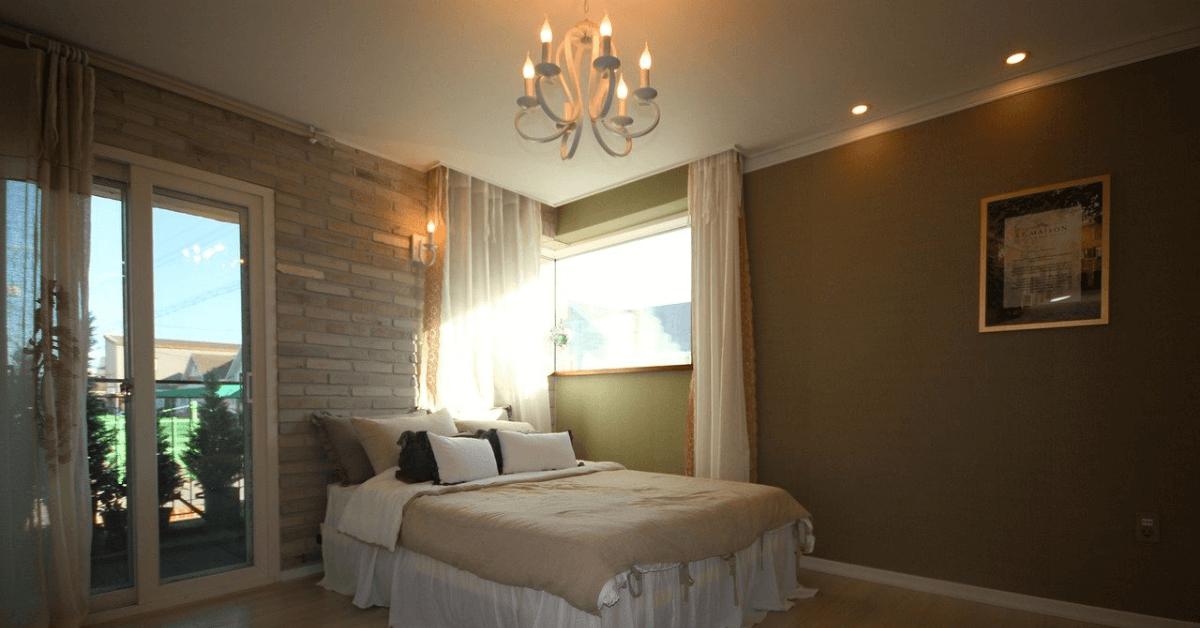 bedroom lighting