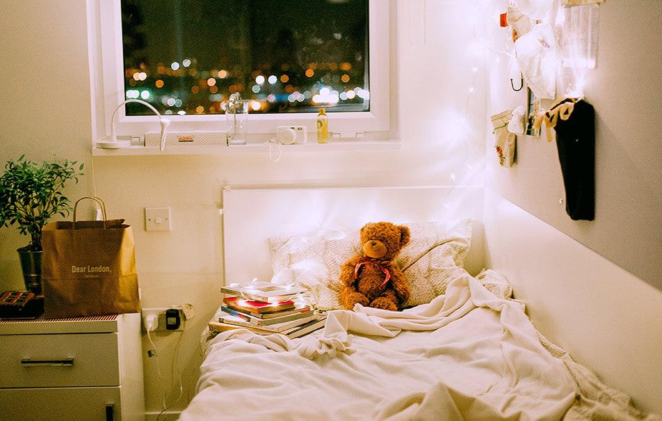 dorm bedrooms